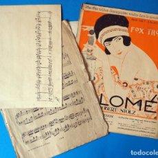 Partituras musicais: LOTE DE PARTITURAS ANTIGUAS, HOJAS SUELTAS. Lote 244907325