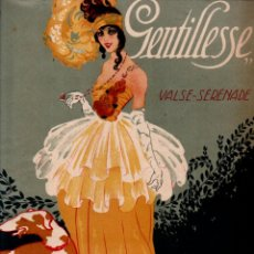 Partituras musicales: CLIFTON WORSLEY : GENTILLESSE - VALSE SERENADE (UNION MUSICAL, S. F.). Lote 245949480