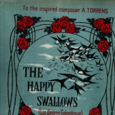 Partituras musicales: JOHN DASCA B : THE HAPPY SWALLOWS (MAGIN GONZALEZ, S. F.). Lote 245949815