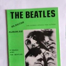 Partituras musicales: PARTITURAS CON ACORDES CIFRADOS - THE BEATLES - 23 ÉXITOS, ALBUM Nº 2 - ED. MUSICALES CLIPPER'S. Lote 246337780