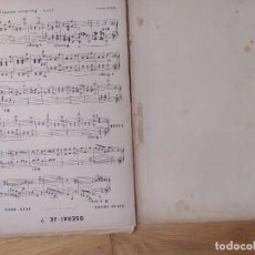 Partituras musicales: OSERAI-JE? (VALSE LENTE), DE J. BRUS (PARTITURA ANTIGUA). Lote 246636250