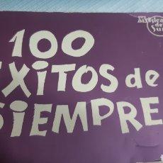 Partituras musicales: 100 EXITOS DE SIEMPRE, MUSICA DEL SUR. Lote 247600525