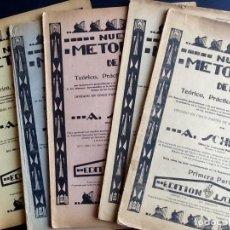Partituras musicales: NUEVO METODO DE PIANO. 1940. 5 VOLUMENES. . ENVIO CERTIFICADO INCLUIDO.. Lote 249339220