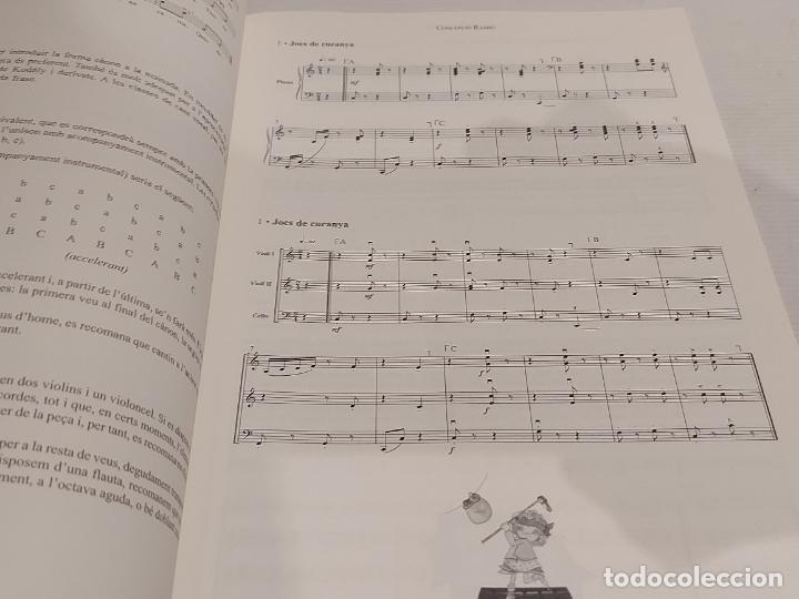 Partituras musicales: CÀNONS LÍQUIDS I CÒSMICS / CONCEPCIÓ RAMIÓ / ED: CLIVIS-2012 / LIBRETO NUEVO - Foto 3 - 251818810