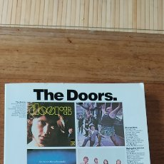 Partitions Musicales: THE DOORS COMPLETE MUSIC PARTITURAS PIANO,. Lote 254712900