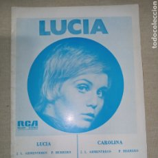 Partituras musicales: RCA LUCIA CAROLINA. Lote 261380380