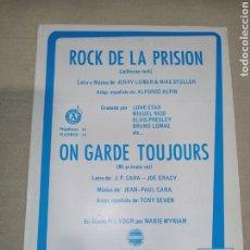 Partituras musicales: POLYDOR SERIE COMPATIBLE ROCK DE LA PRISIÓN. Lote 261519030