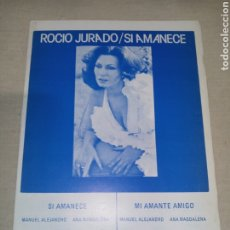 Partituras musicales: RCA ROCIO JURADO. Lote 261524465