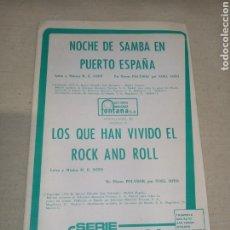 Partituras musicales: RCA SERIE COMPATIBLE SOTO. Lote 261530955