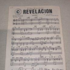 Partituras musicales: CBS SANTANA REVELACIÓN GITANO. Lote 261534395