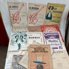 Partitions Musicales: GRAN LOTE DE PARTITURAS ANTIGUAS!. Lote 266172653