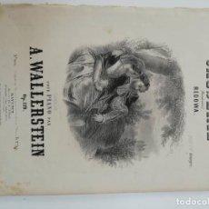 Partituras musicales: CAUSERIE, A. WALLERSTEIN, PARTITURA 3 PÁGINAS. Lote 269095763