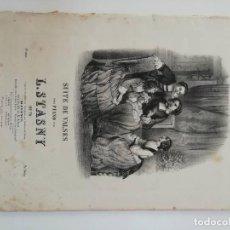 Partituras musicales: LES SENTIMENTALES, L. STASNY, PARTITURA 11 PÁGINAS. Lote 269095768