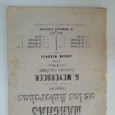 Partituras musicales: MARCHAS DE LAS ANTORCHAS, G. MEYERBEER, PARTITURA 29 PÁGINAS. Lote 269095808