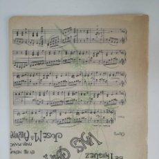 Partituras musicales: VALS CAPRICHO, JOSÉ MARÍA ALVIRA, PARTITURA 4 PÁGINAS. Lote 269095813