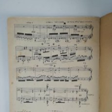 Partituras musicales: CAPRICHO DE GÉNERO ESPAÑOL, ANTONIO NOGUÉS, PARTITURA 15 PÁGINAS. Lote 269095818