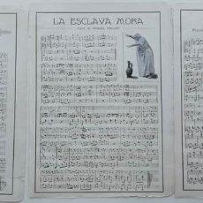 Partituras musicales: 6 PÁGINAS DE PARTITURAS. LAS DE LAS IMÁGENES. Lote 269095843