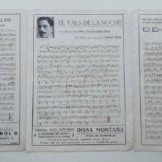 Partituras musicales: 6 PÁGINAS DE PARTITURAS. LAS DE LAS IMÁGENES. Lote 269095853
