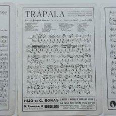 Partituras musicales: 6 PÁGINAS DE PARTITURAS. LAS DE LAS IMÁGENES. Lote 269095863
