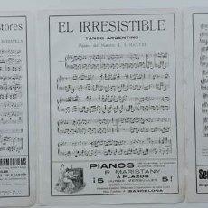 Partituras musicales: 6 PÁGINAS DE PARTITURAS. LAS DE LAS IMÁGENES. Lote 269095873
