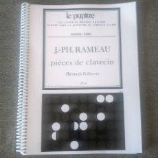 Partituras musicales: PIÈCES DE CLAVECIN J.-PH. RAMEAU LE PUPITRE HEUGEL 9790047325334. Lote 276012748