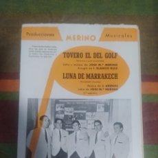 Partituras musicales: PARTITURA DE MÚSICA ANTIGUA. Lote 277060893