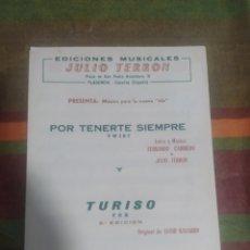 Partituras musicales: PARTITURA DE MÚSICA ANTIGUA. Lote 277060963