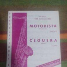 Partituras musicales: PARTITURA DE MÚSICA ANTIGUA. Lote 277061078