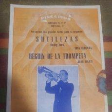 Partituras musicales: PARTITURA DE MÚSICA ANTIGUA. Lote 277061918