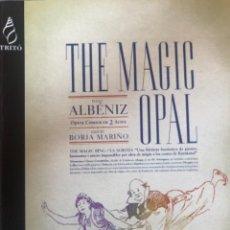"Partituras musicales: ISAAC ALBÉNIZ, ""THE MAGIC OPAL"". Lote 278225138"
