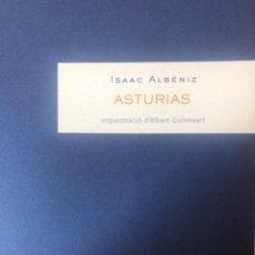 "Partituras musicales: ISAAC ALBÉNIZ, ""ASTURIAS"" PARA ORQUESTA. Lote 278226083"