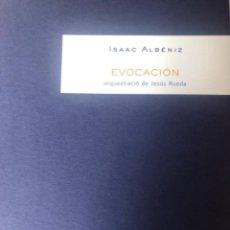 """Partituras musicales: ISAAC ALBÉNIZ, """"EVOCACIÓN"""" PARA ORQUESTA. Lote 278227213"""
