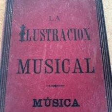 Partitions Musicales: LA ILUSTRACIÓN MUSICAL, PARTITURAS (CAJ 5). Lote 281052573