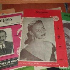 Partituras musicales: LORENZO GONZALEZ, XAVIER CUGAT, ALBA MERY, BING CROSBY, MARIO LANZA, PARTITURAS. Lote 287029613