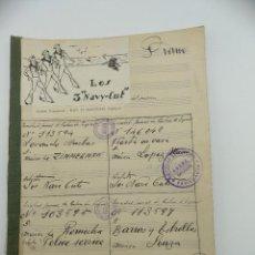 Partituras musicales: PARTITURA DE CUATRO MELODÍAS INTERPRETADAS POR LOS 3 NAVY-CUT. 1950. Lote 288384193