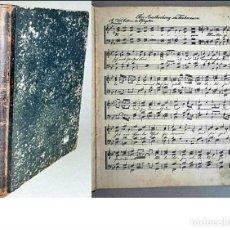 Partiture musicali: ANTIQUÍSIMO LIBRO DE PARTITURAS. SIGLO XIX? TAPAS DURAS.. Lote 291184143