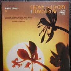Partiture musicali: PAUL MCCARTNEY - BEATLES Y VARIOS MUSICALES - LIBRO DE PARTITURAS PARA PIANO FACIL - NO USO CORREOS. Lote 291489668