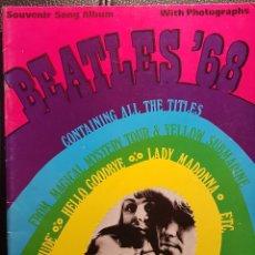 Partiture musicali: BEATLES - BEATLES 68 - SOUVENIR SONG ALBUM - LIBRO PARTITURAS ORIGINAL DE EPOCA - 1969 - NO CORREOS. Lote 291906353