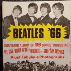 Partituras musicais: BEATLES - BEATLES 66 - SOUVENIR ALBUM - LIBRO PARTITURAS ORIGINAL DE EPOCA - 1966 - NO USO CORREOS. Lote 292620723