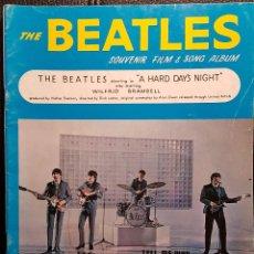 Partituras musicais: BEATLES - A HARD DAYS NIGHT - SOUVENIR ALBUM - LIBRO PARTITURAS ORIGINAL EPOCA - 1964 - NO CORREOS. Lote 293785528