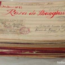 Partiture musicali: RESERVADO A RUTODY TREINTA PARTITURAS ORIGINALES DE LA ARTISTA RAQUEL MELLER. VER FOTOS. Lote 293814553