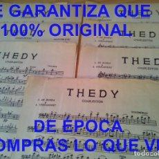 Partituras musicais: A FERNANVERT THEDY CHARLESTON PARTITURA U36. Lote 293825008