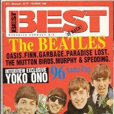 Revistas de música: REVISTA MUSICAL / BEST // THE BEATLES . Lote 25527872