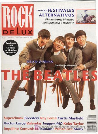 REVISTA MUSICAL / ROCK DE LUX /// THE BEATLES DISCO A DISCO (Música - Revistas, Manuales y Cursos)