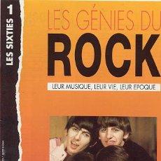 Revistas de música: REVISTA MUSICAL / LES GENIES DU ROCK / LES SIXTIES ////// THE BEATLES...... Y MAS. Lote 20923299