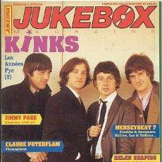 Revistas de música: REVISTA MUSICAL JUKE BOX /// THE KINKS ///JIMMYPAGE-MERSEYBEAT-GANAFOUL-...Y MUCHOS 60'S. Lote 26670158