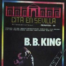 Revistas de música: CITA EN SEVILLA SEVILLA, 1984. Lote 5818353