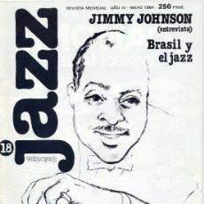 Revistas de música: JAZZ QUARTICA / Nº 18 - MAYO 1984. Lote 9663392