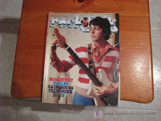REVISTA MUSICAL ROCK & FOLK 1979 /// PAUL MCCARTNEY & WING ( THE BEATLES ) (Música - Revistas, Manuales y Cursos)