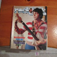 Revistas de música - REVISTA MUSICAL ROCK & FOLK 1979 /// PAUL MCCARTNEY & WING ( THE BEATLES ) - 24744483
